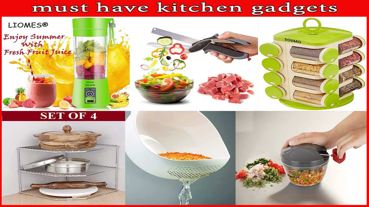 10 Useful Kitchen Tools India